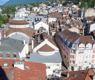 La ville d'Evian